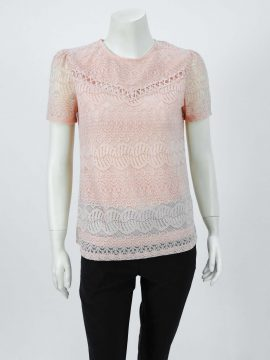 ROSEY LACE TOP